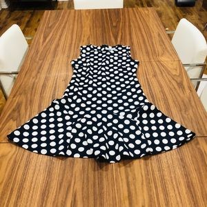 Pom a dot dress